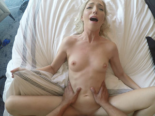 Great fuck with a fresh blonde